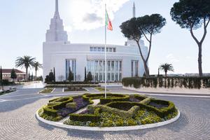 Il tempio dei Mormoni a Roma 3