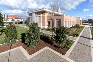 Il tempio dei Mormoni a Roma 6