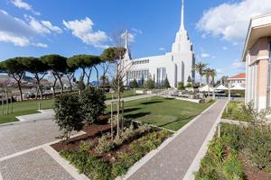 Il tempio dei Mormoni a Roma 7