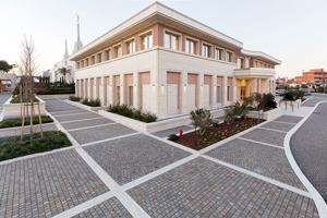 Il tempio dei Mormoni a Roma 9